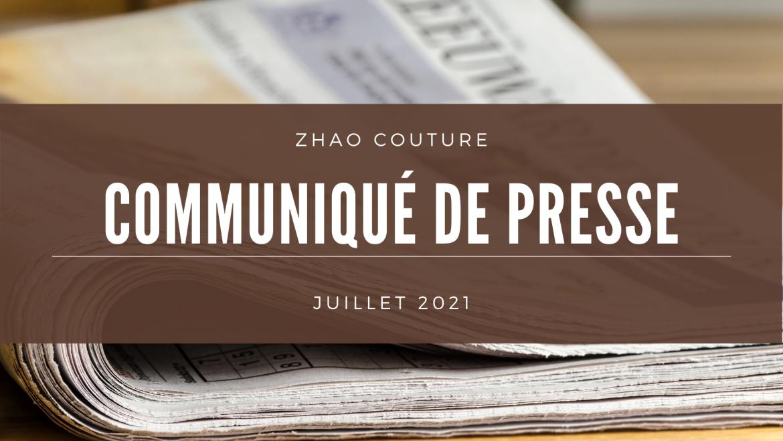 Le communiqué de Presse 2021